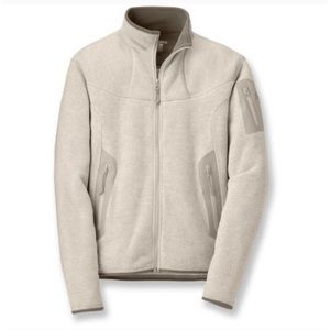 Arc'teryx covert cardigan fleece jacket size M
